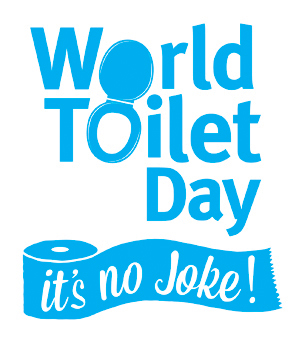 It's No Joke Toilet Campaign